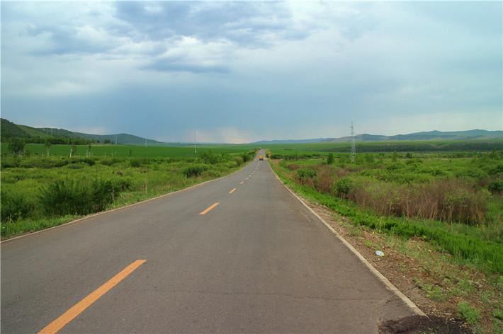 边防公路风景