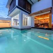 精緻游泳池別墅酒店