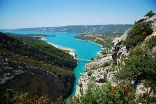 圣十字湖-法国-剑雨烟花的江南